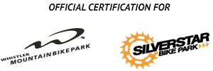 Official Certification of Whistler Bike Park and Silver Star Bike Park